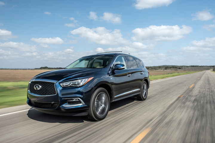 2017 Infiniti QX60 Earns 5-star Rating in NCAP testing