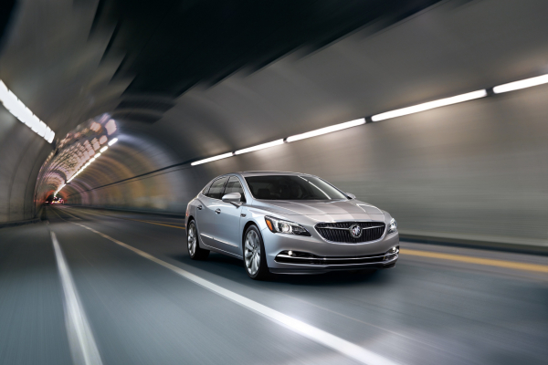 The all-new 2017 LaCrosse arrives this year as Buick's design and technology flagship © General Motors
