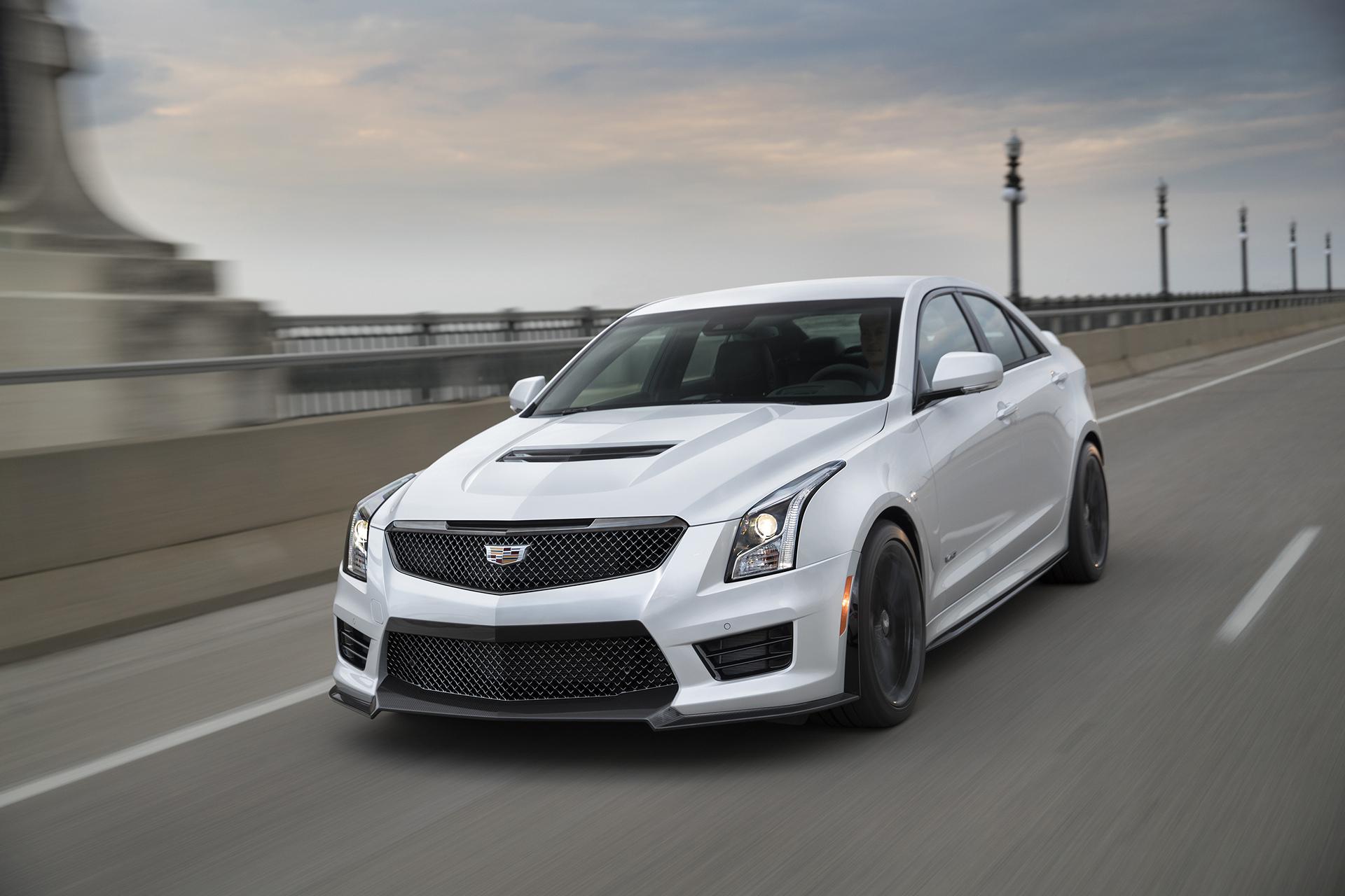 2017 Cadillac ATS-V © General Motors