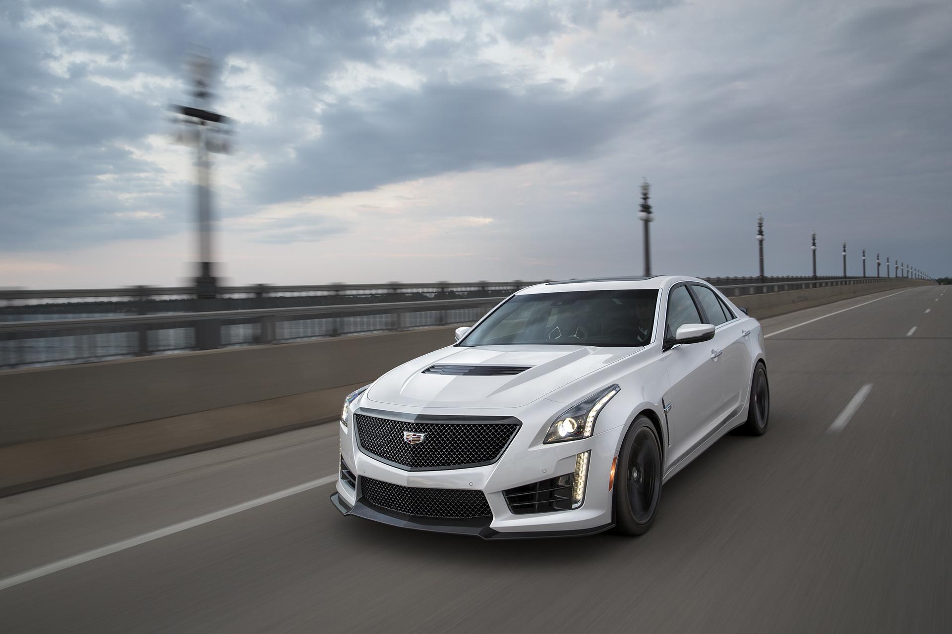 2017 Cadillac CTS-V © General Motors