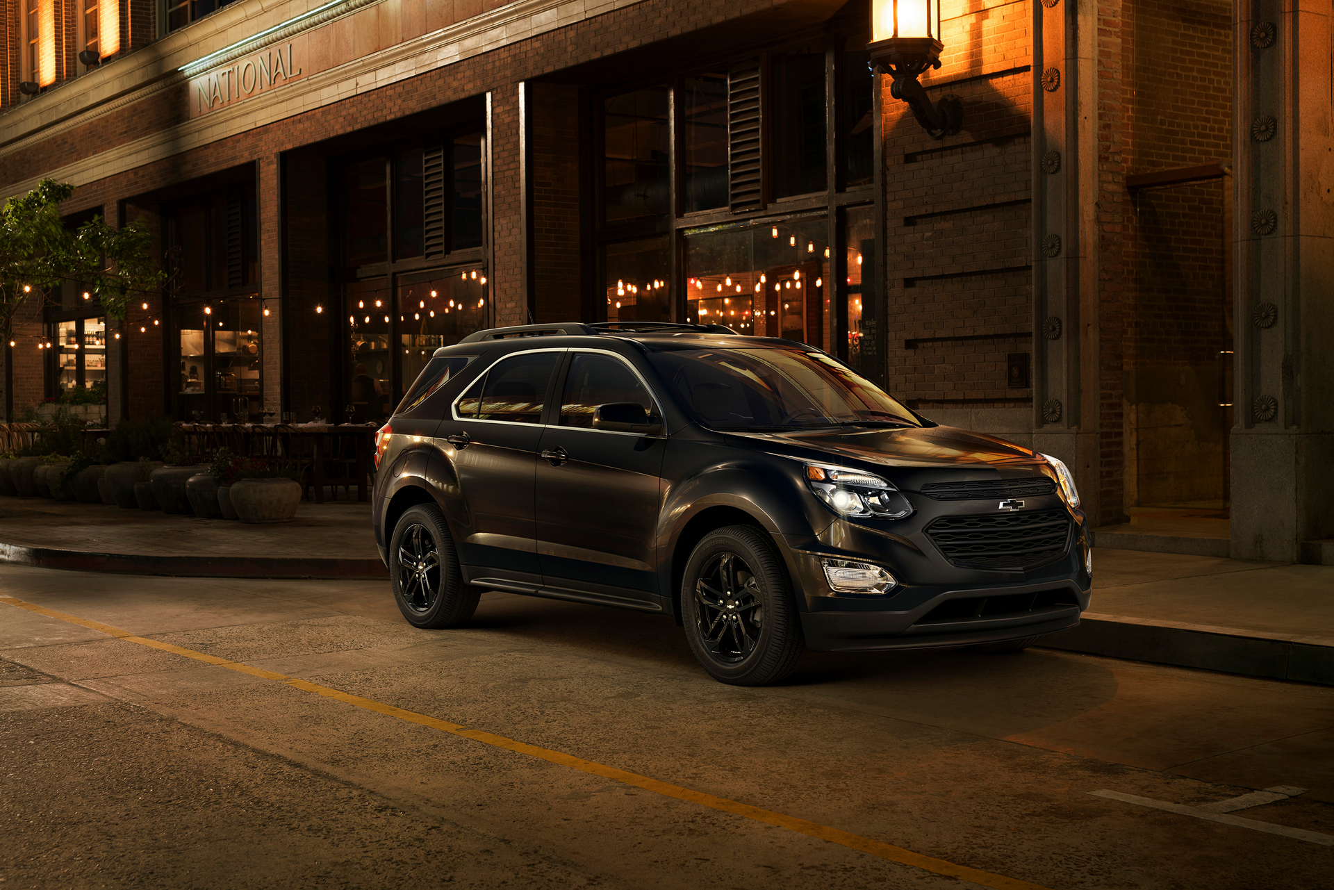 The Equinox Midnight (shown) and Sport Editions and Traverse Graphite Edition join the Trax Midnight Edition and a growing portfolio of Chevrolet special-edition vehicles. Equinox and Traverse combined sales are up double digits in the month of July as crossovers continue to be hot segments © General Motors