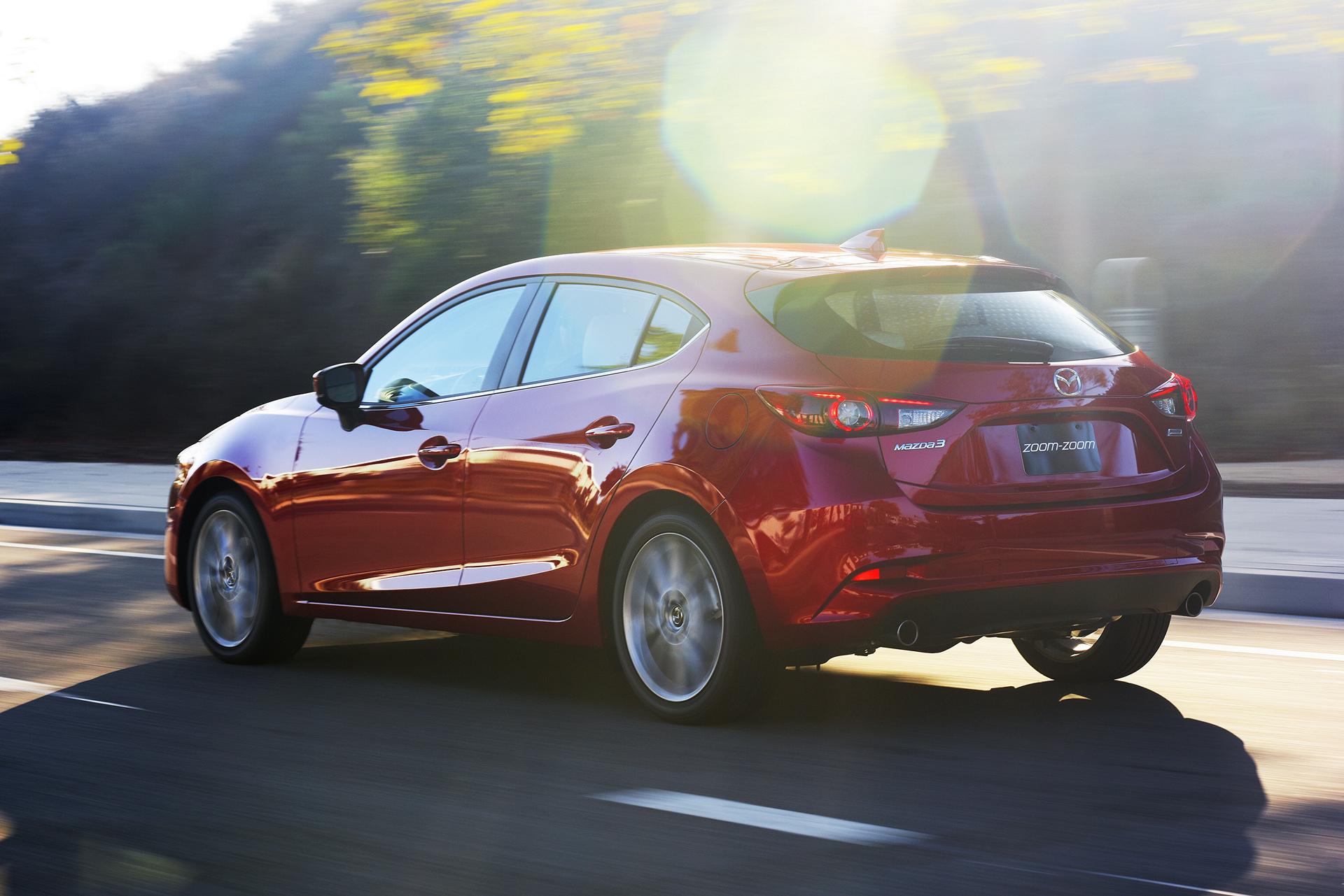 2017 Mazda3 © Mazda Motor Corporation