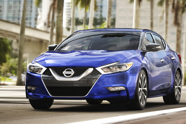 2017 Nissan Maxima © Nissan Motor Co., Ltd.