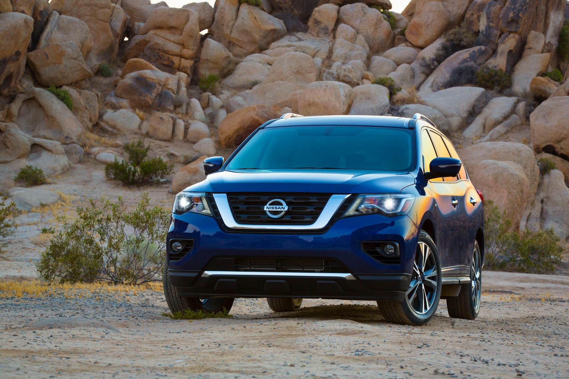 2017 Nissan Pathfinder © Nissan Motor Co., Ltd.