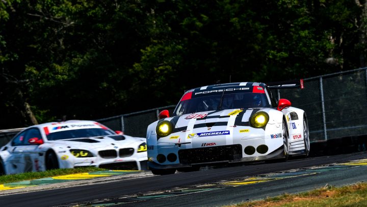 Porsche 911 RSR Back on the Podium After Gripping Chase