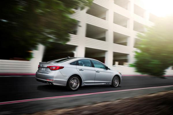 2017 Hyundai Sonata 2.0T © Hyundai Motor Company