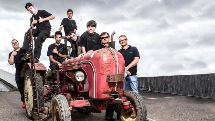 A New Look for Porsche Tractors