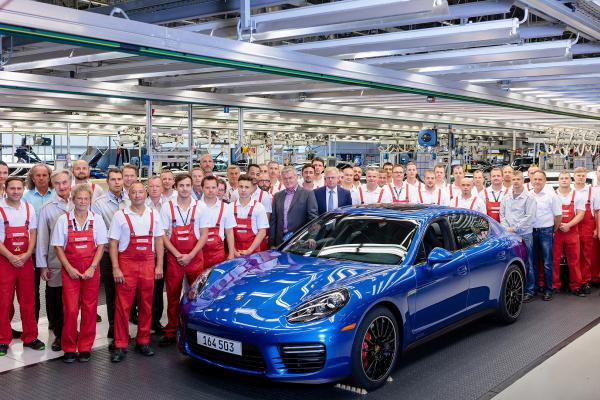 Panamera, Porsche plant in Leipzig © Dr. Ing. h.c. F. Porsche AG