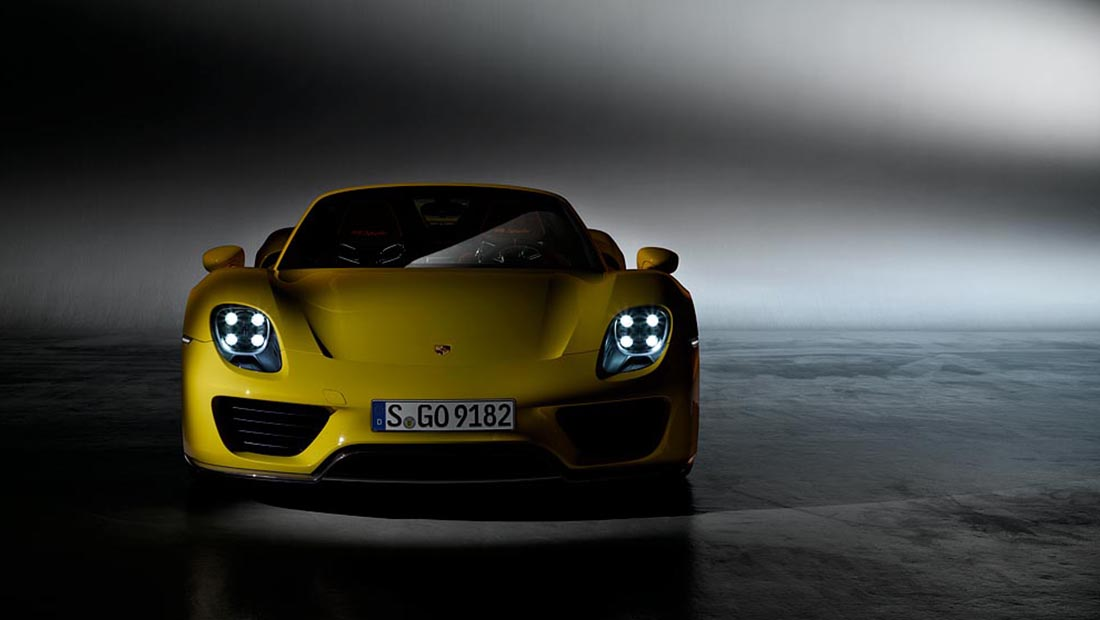 918 Spyder © Dr. Ing. h.c. F. Porsche AG