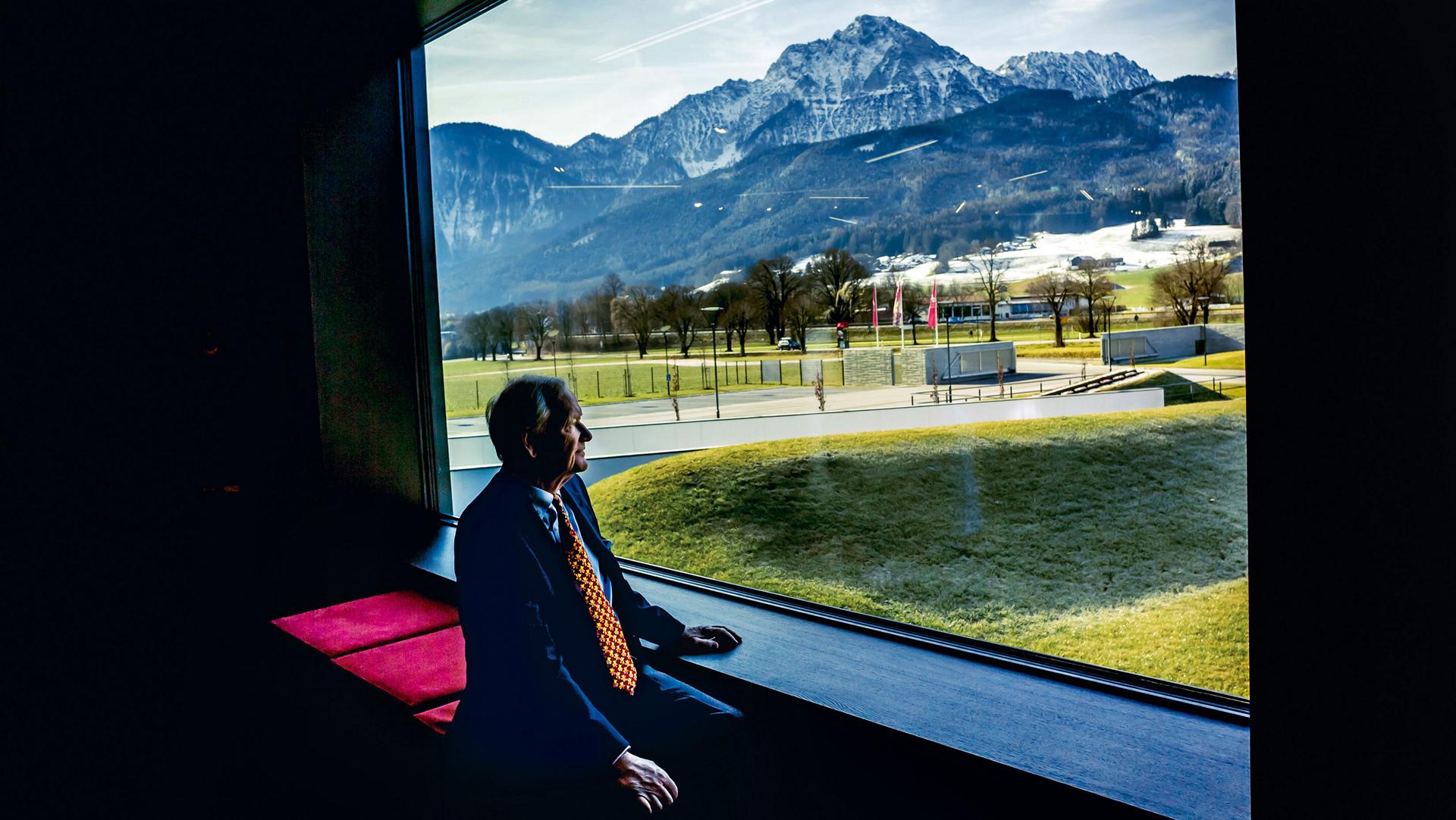 Hans-Peter Porsche, member of the Supervisory Board of Porsche AG and of Porsche Automobil Holding SE, district of Berchtesgadener Land © Dr. Ing. h.c. F. Porsche AG