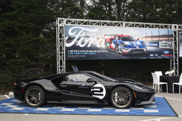 Ford GT '66 Heritage Edition at Pebble Beach © Ford Motor Company