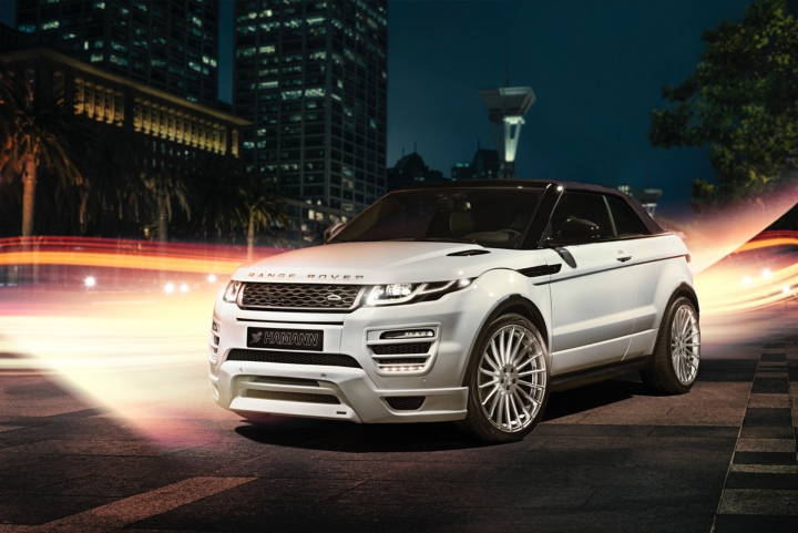 Haute Couture for the New Evoque Convertible