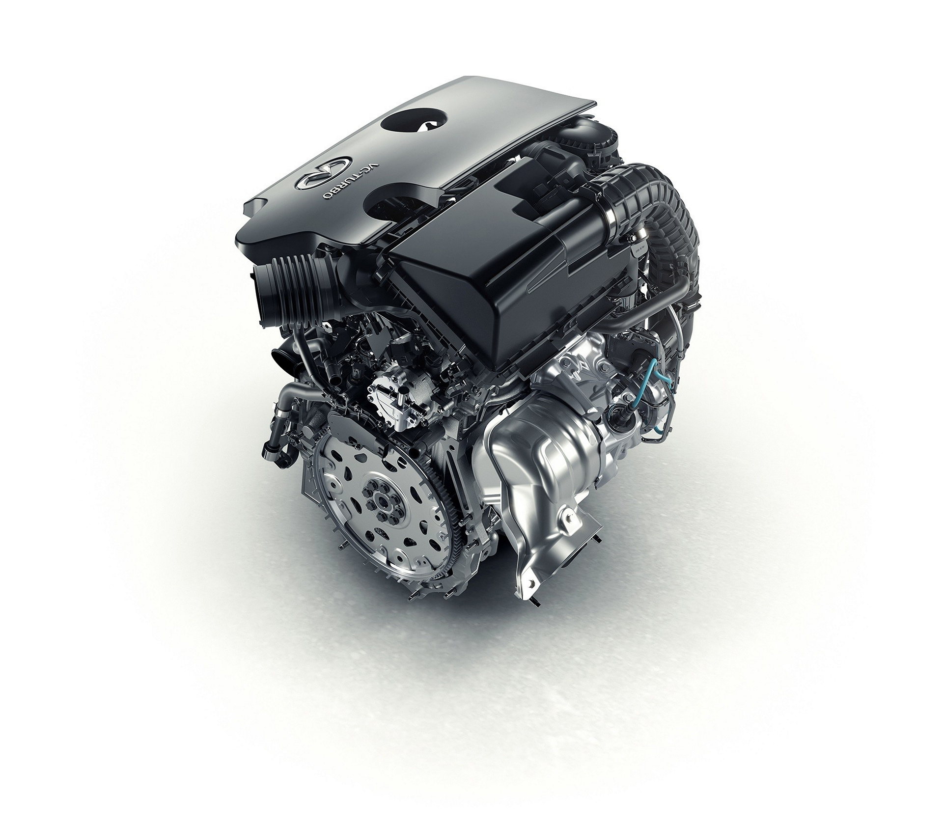 INFINITI four-cylinder turbocharged gasoline VC-T engine © Nissan Motor Co., Ltd.