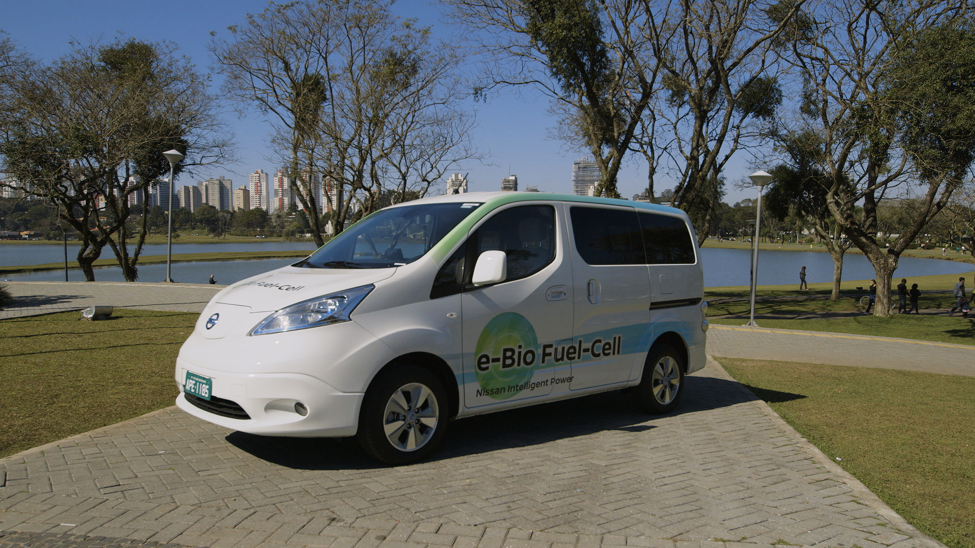 Nissan e-Bio Fuel-Cell Prototype Vehicle © Nissan Motor Co., Ltd.
