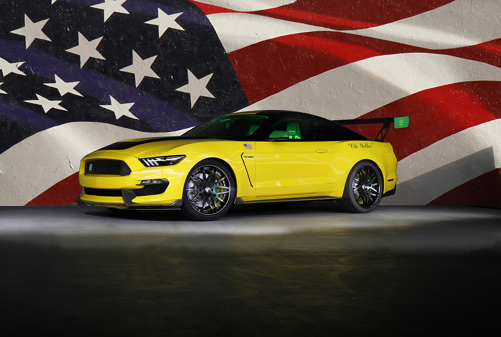 Ford Ole Yeller Mustang © Ford Motor Company
