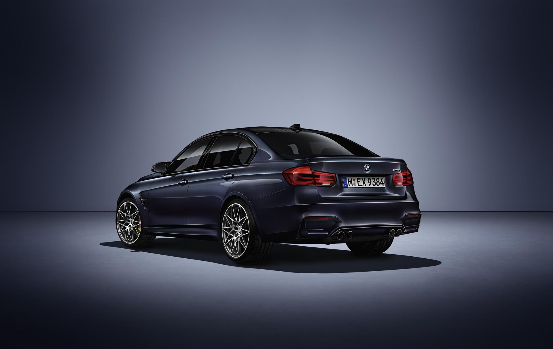 """2017 BMW """"30 Jahre M3"""" Limited Edition © BMW AG"""