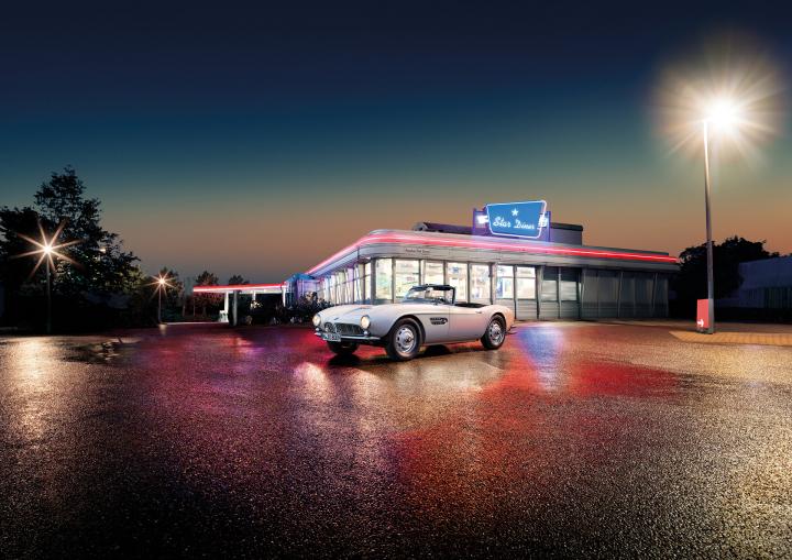 Elvis' BMW 507 Lives On: Comeback at the Concours d'Elegance
