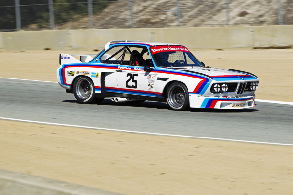 1975 3.0 CSL IMSA Group 4 to race at the Rolex Monterey Motorsports Reunion 2016 © BMW AG