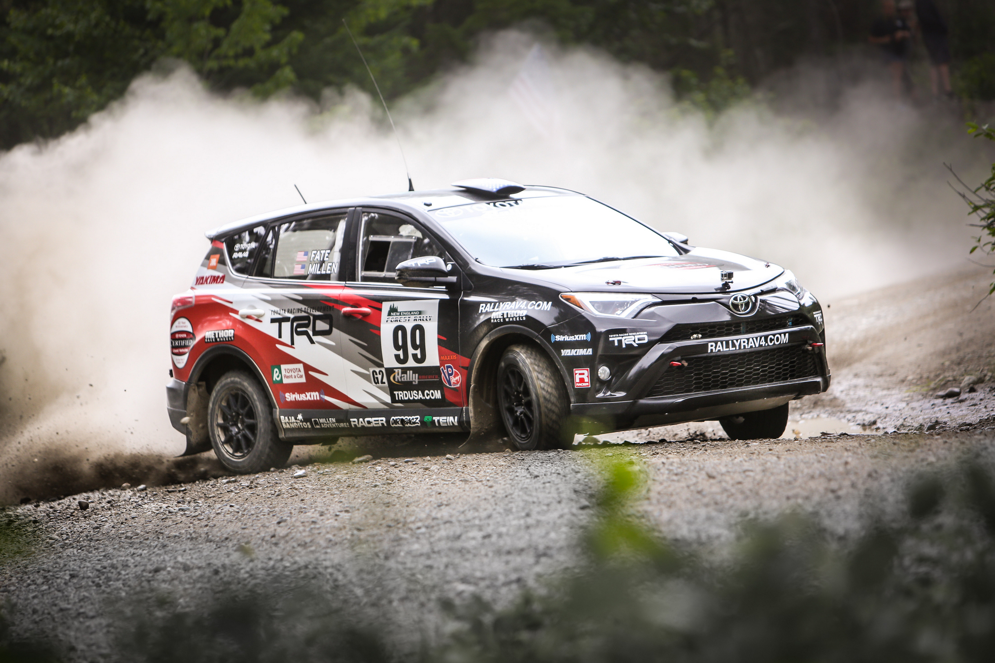 Rally RAV4 Heads to Minnesota for Ojibwe Forests Rally © Toyota Motor Corporation
