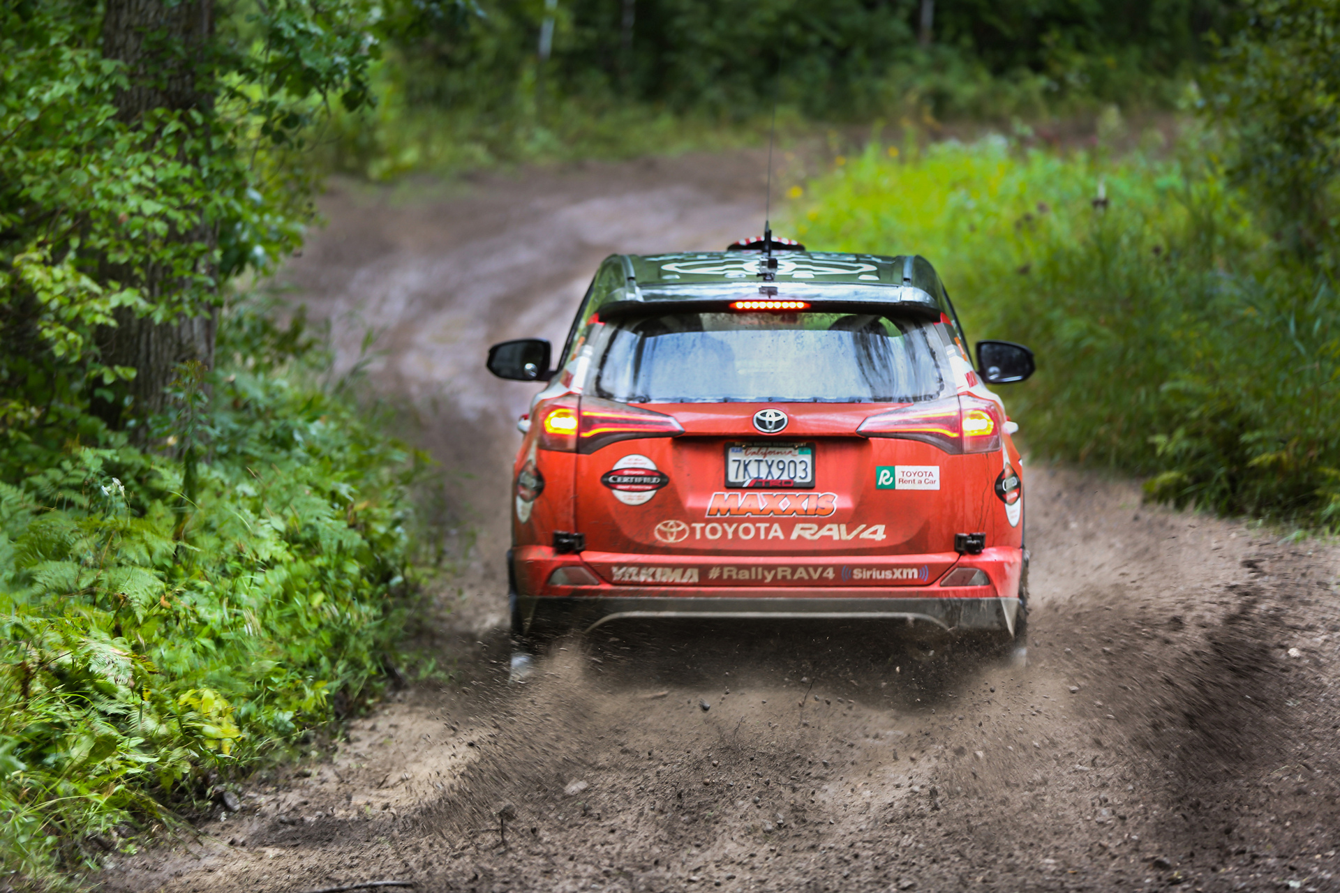2016 Rally RAV4 - Ojibwe Forests Rally © Toyota Motor Corporation