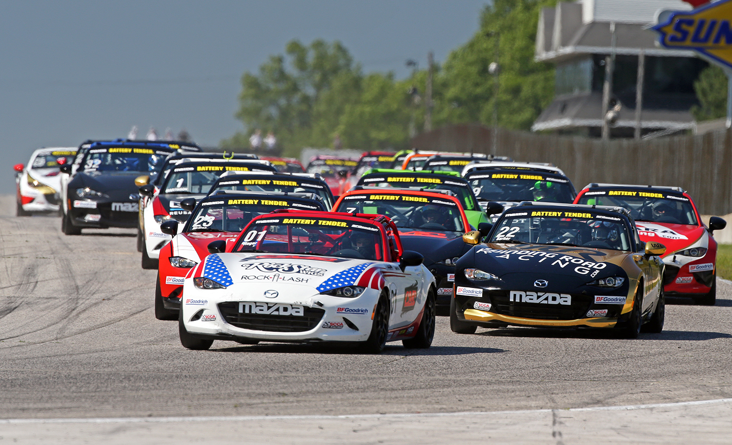 Mazda MX-5 Cup Pricing Update © Mazda Motor Corporation