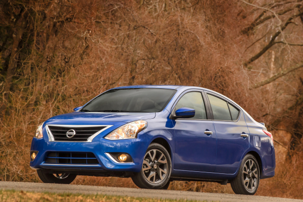2017 Nissan Versa Sedan © Nissan Motor Co., Ltd.