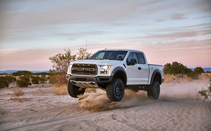 Ford F-150 Raptor: Most Capable Factory Shock Absorbers Ever