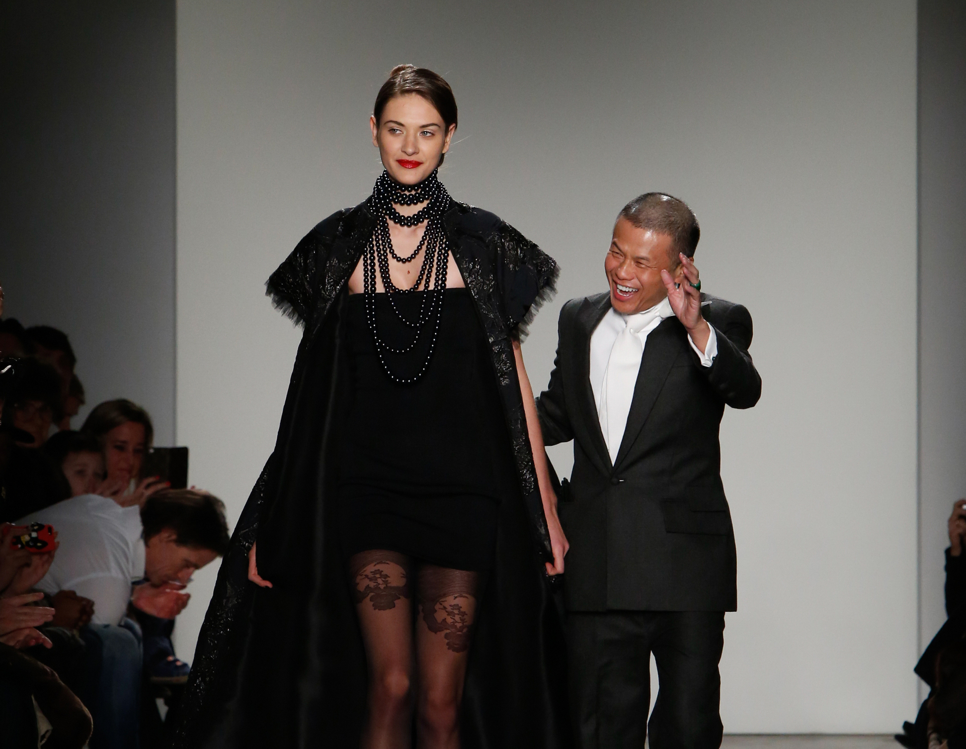 Lexus Taps Fashion Designer Zang Toi for Couture Auto Show Apparel © Toyota Motor Corporation