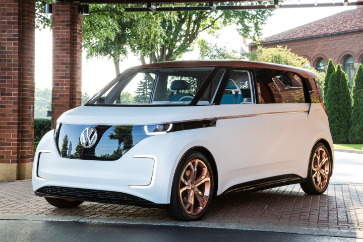 """Volkswagen BUDD-e Named """"2016 Concept Truck of the Year"""""""