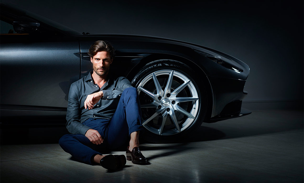 Luxury Capsule Collection 'Aston Martin by Hackett' Released © Aston Martin Lagonda Limited