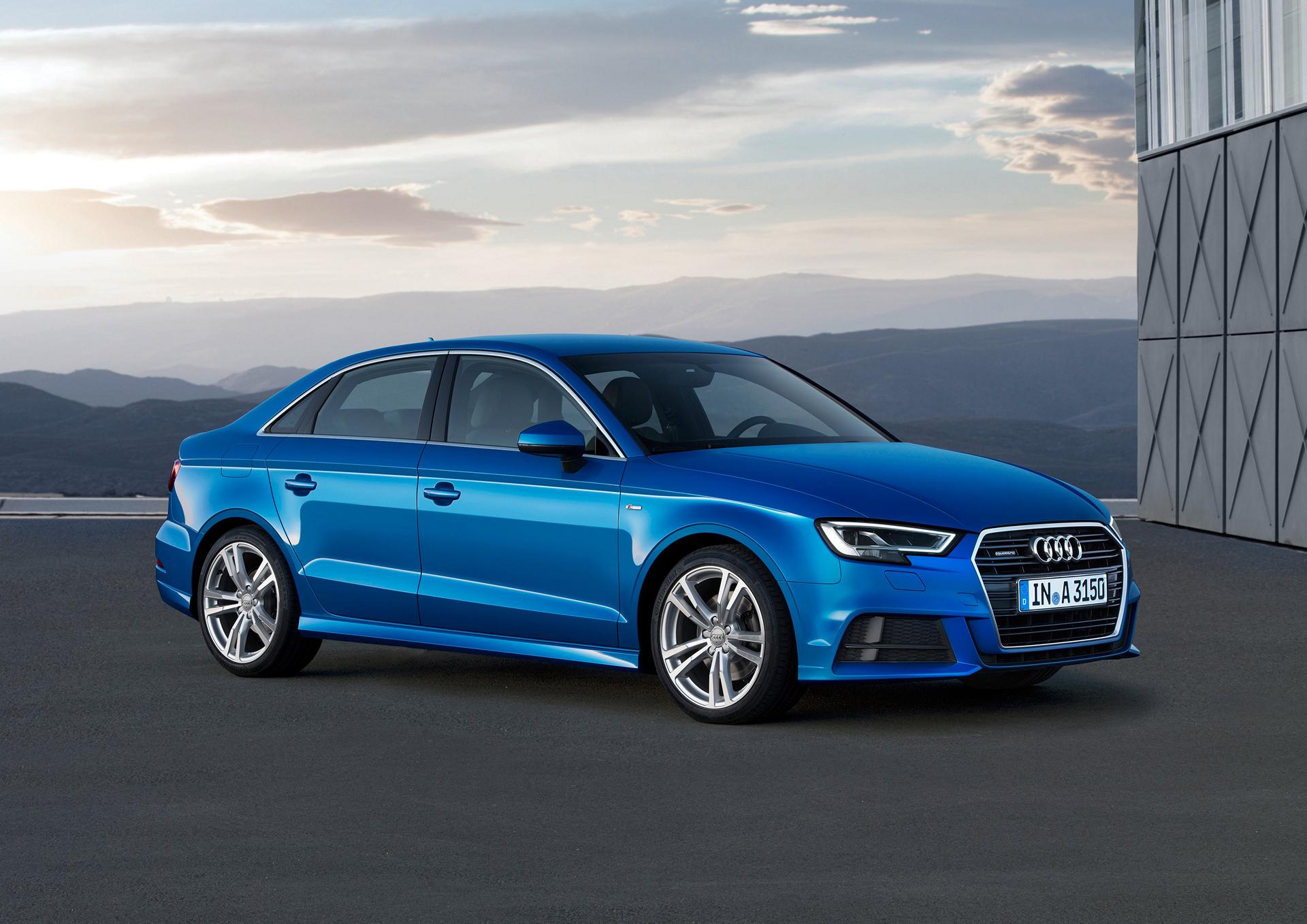 Audi A3 Sedan © Volkswagen AG