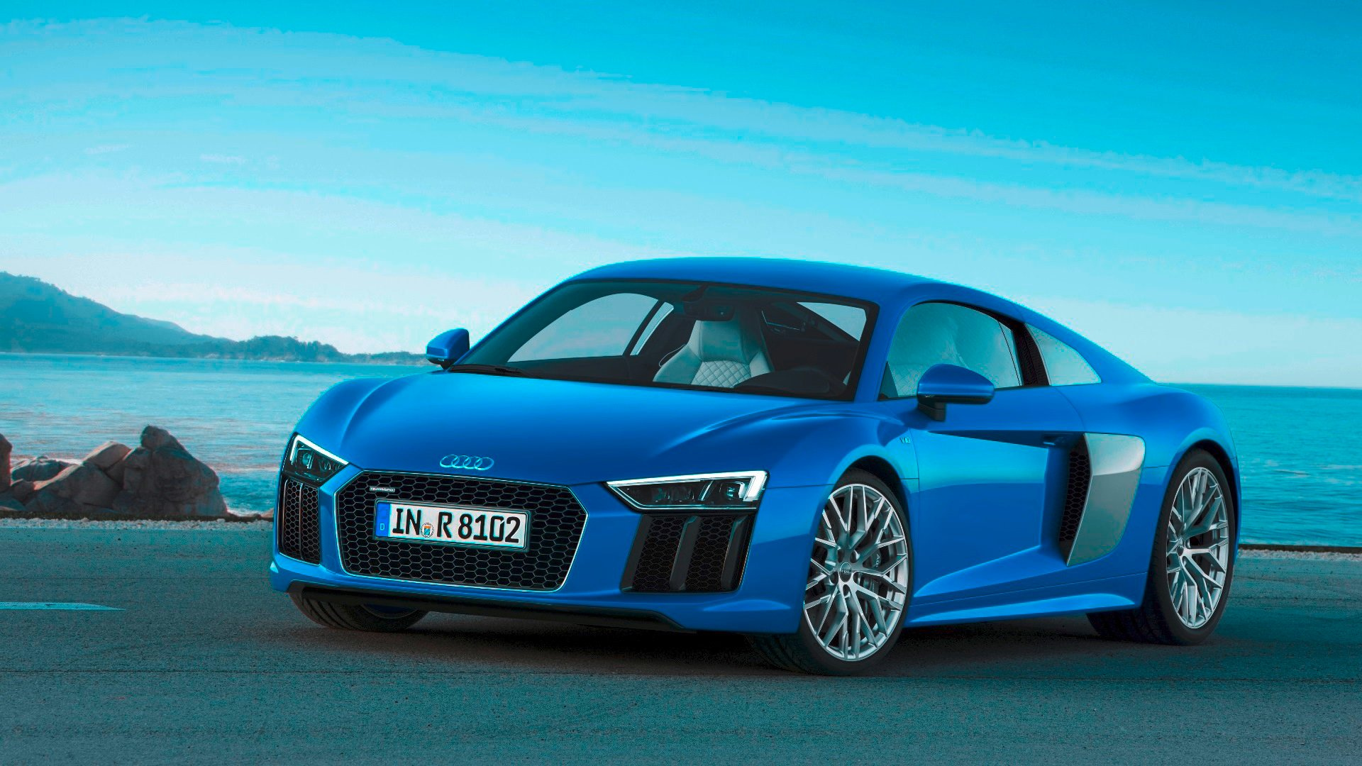 2017 Audi R8 Coupe © Volkswagen AG