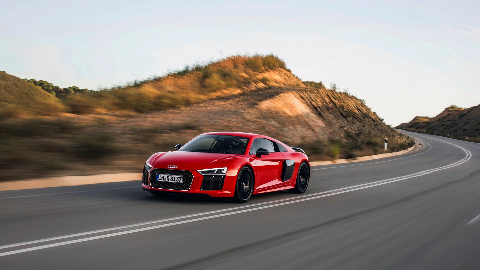 2017 Audi R8 V10 Plus © Volkswagen AG