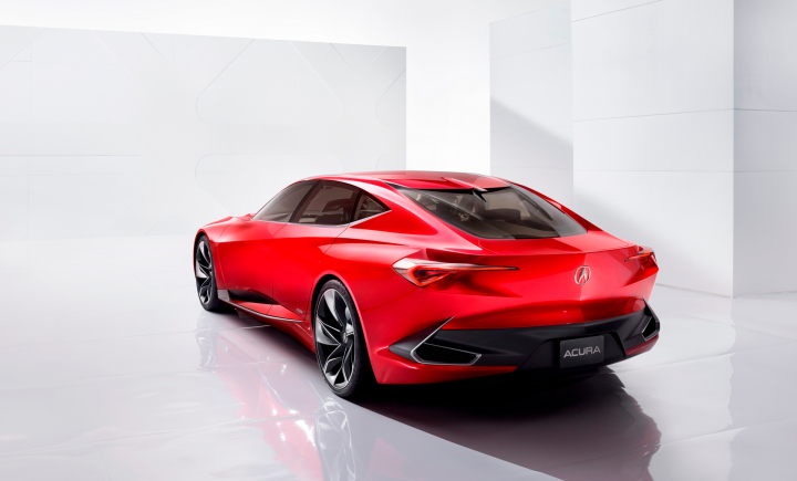 Acura Precision Concept to Take Star Turn On Concept Lawn