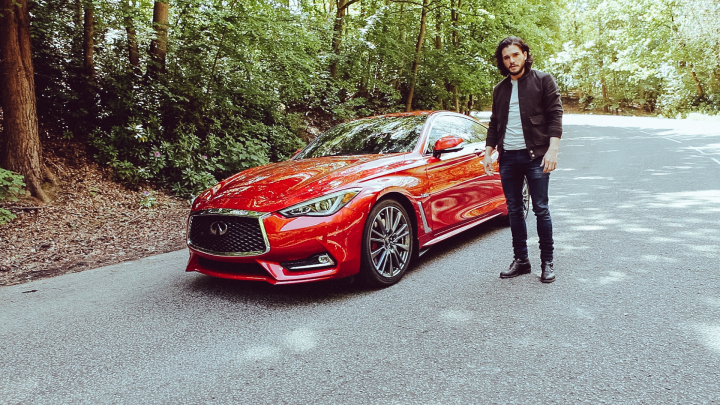 INFINITI Q60 Showed Up in Kit Harington's Debut Brand Film, 'Tyger'