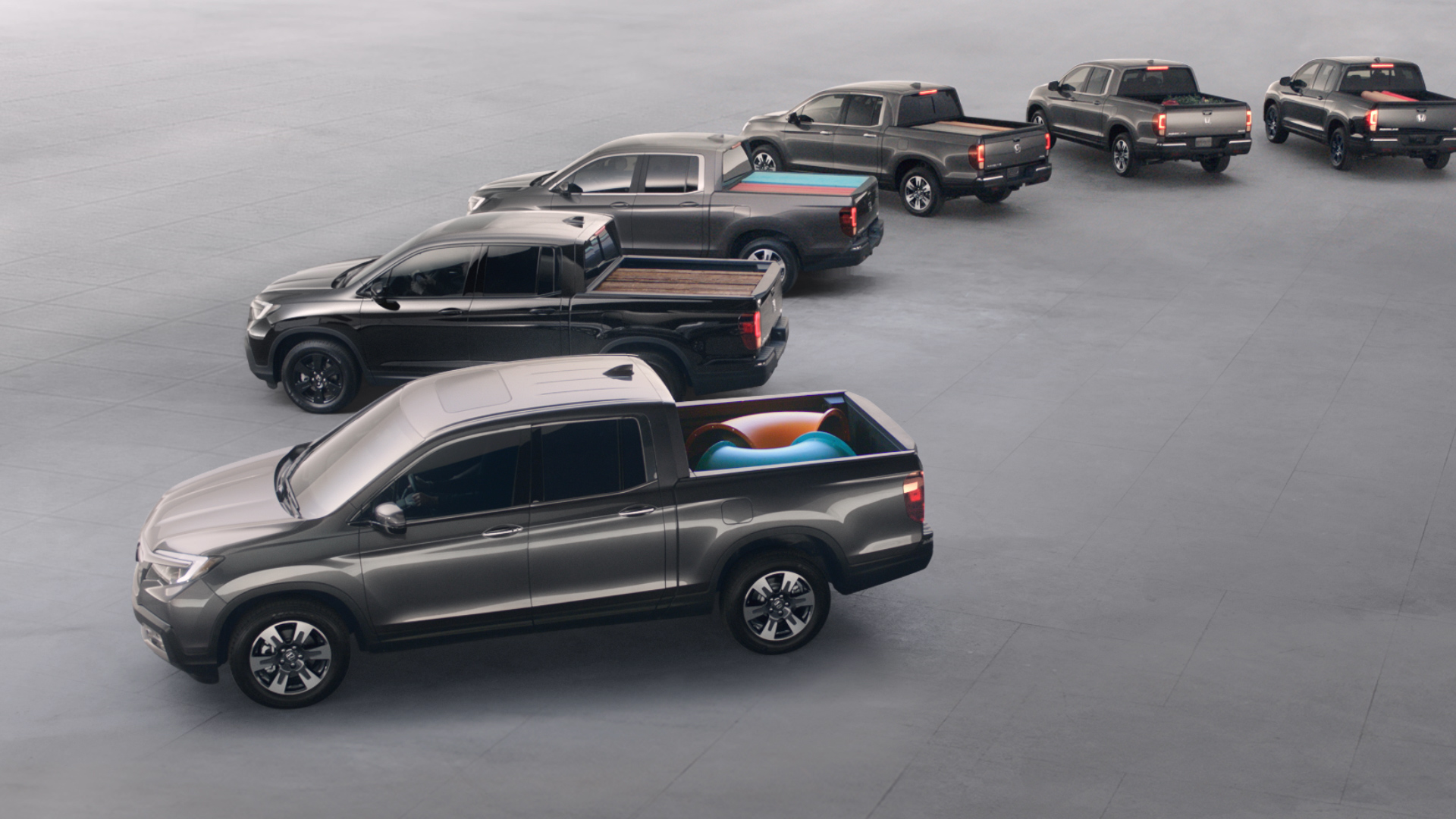 Honda Launches Marketing Campaign for the All-New 2017 Ridgeline © Honda Motor Co., Ltd.