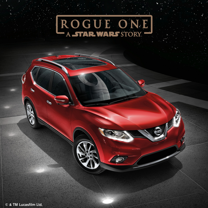 "Nissan Joins Promotional Campaign to Support ""Rogue One: A Star Wars Story"""