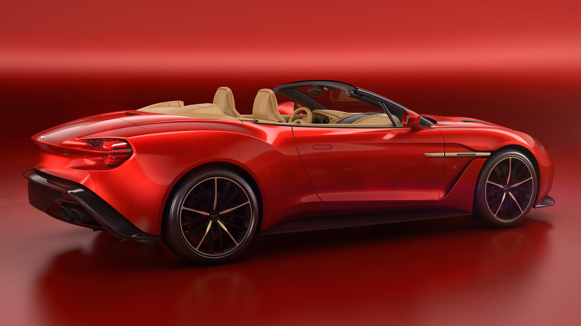 Vanquish Zagato Volante © Aston Martin Lagonda Limited