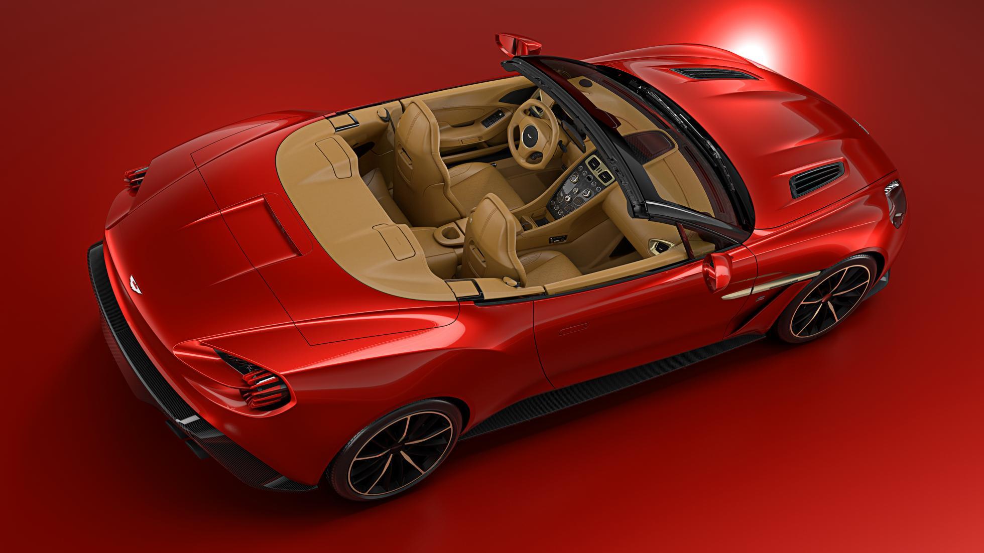 Vanquish Zagato Coupe © Aston Martin Lagonda Limited