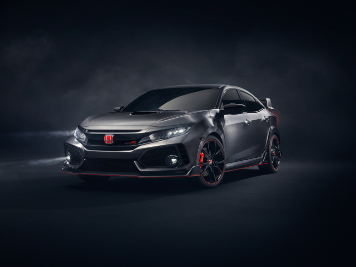Radical New Honda Civic Type R Prototype Debuts in Europe