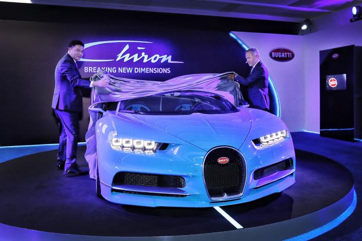 Bugatti Celebrates Premiere of the Chiron in South-East Asia