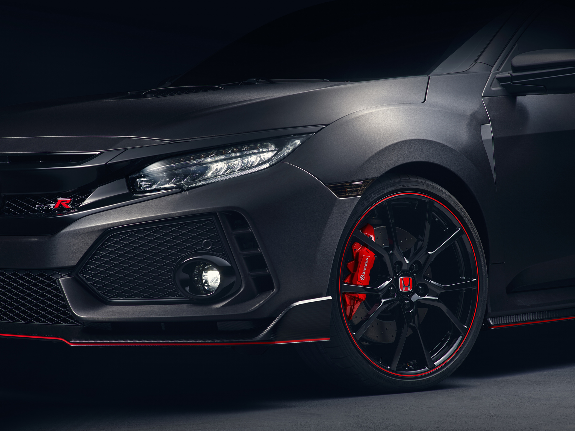 Honda Civic Type R Prototype © Honda Motor Co., Ltd.