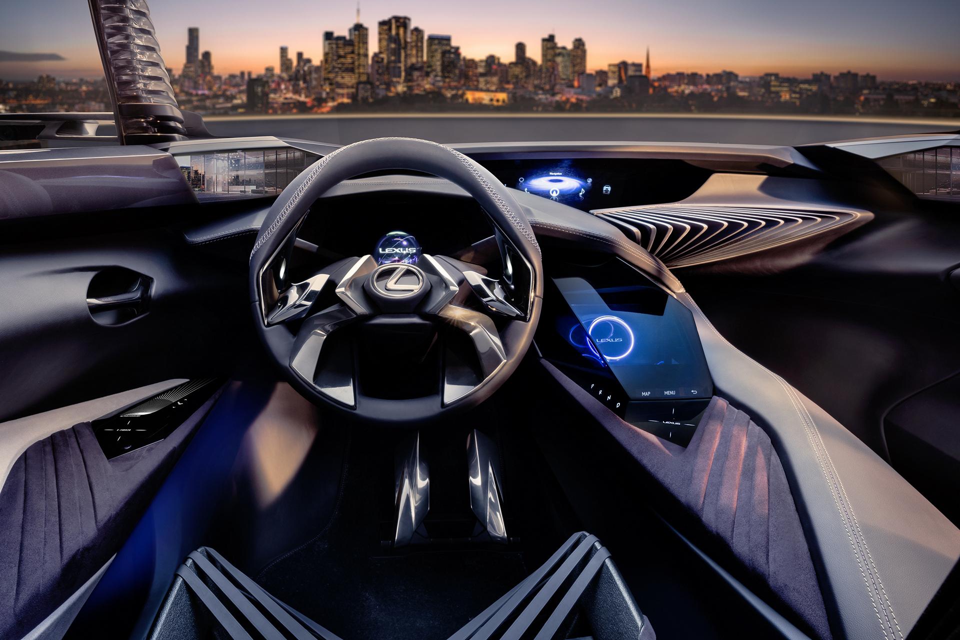 Lexus Console Concept © Toyota Motor Corporation