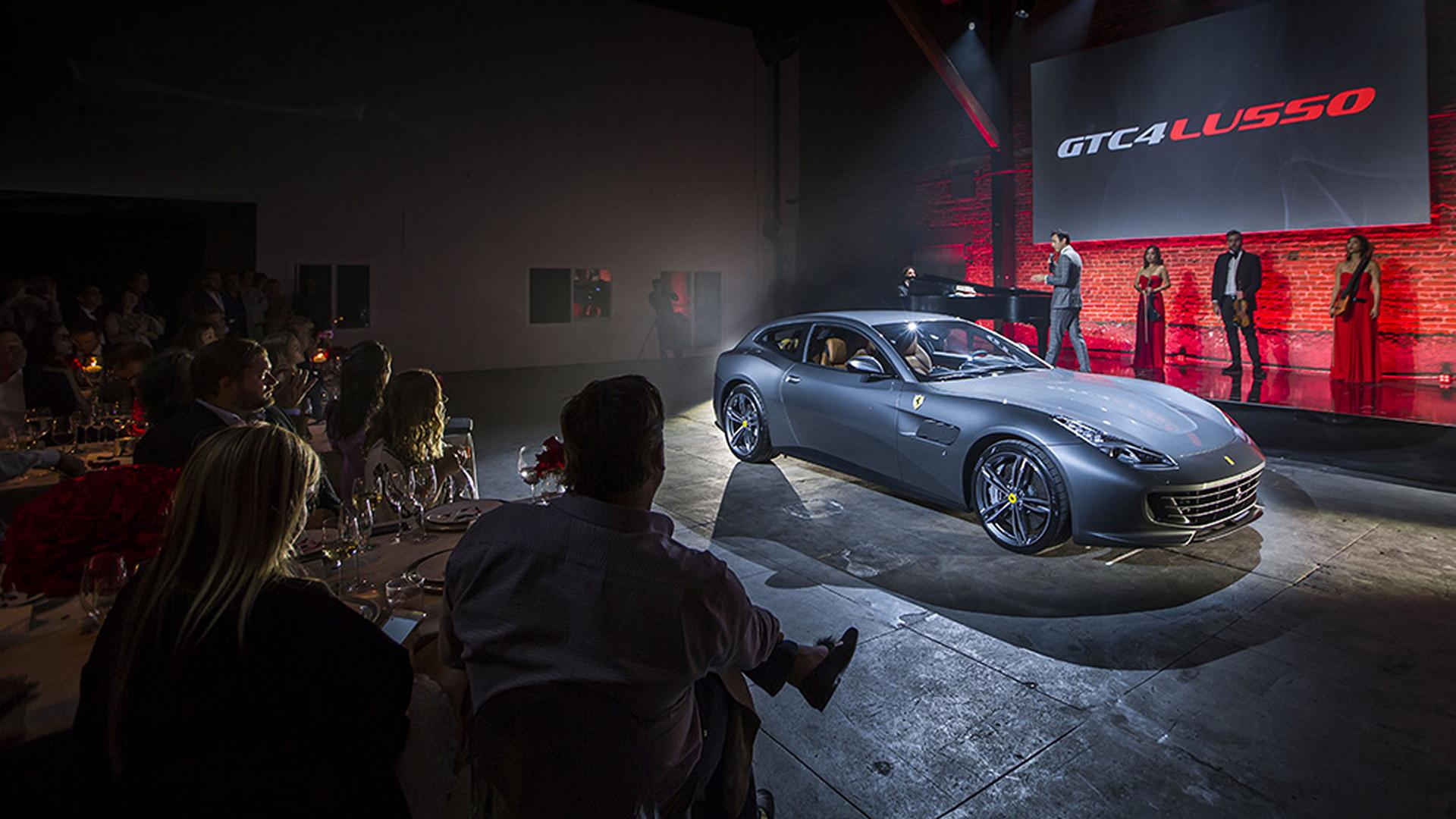 Ferrari GTC4Lusso © Fiat Chrysler Automobiles N.V.