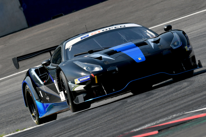 Ferrari of SF Racing Debuts with a Pole