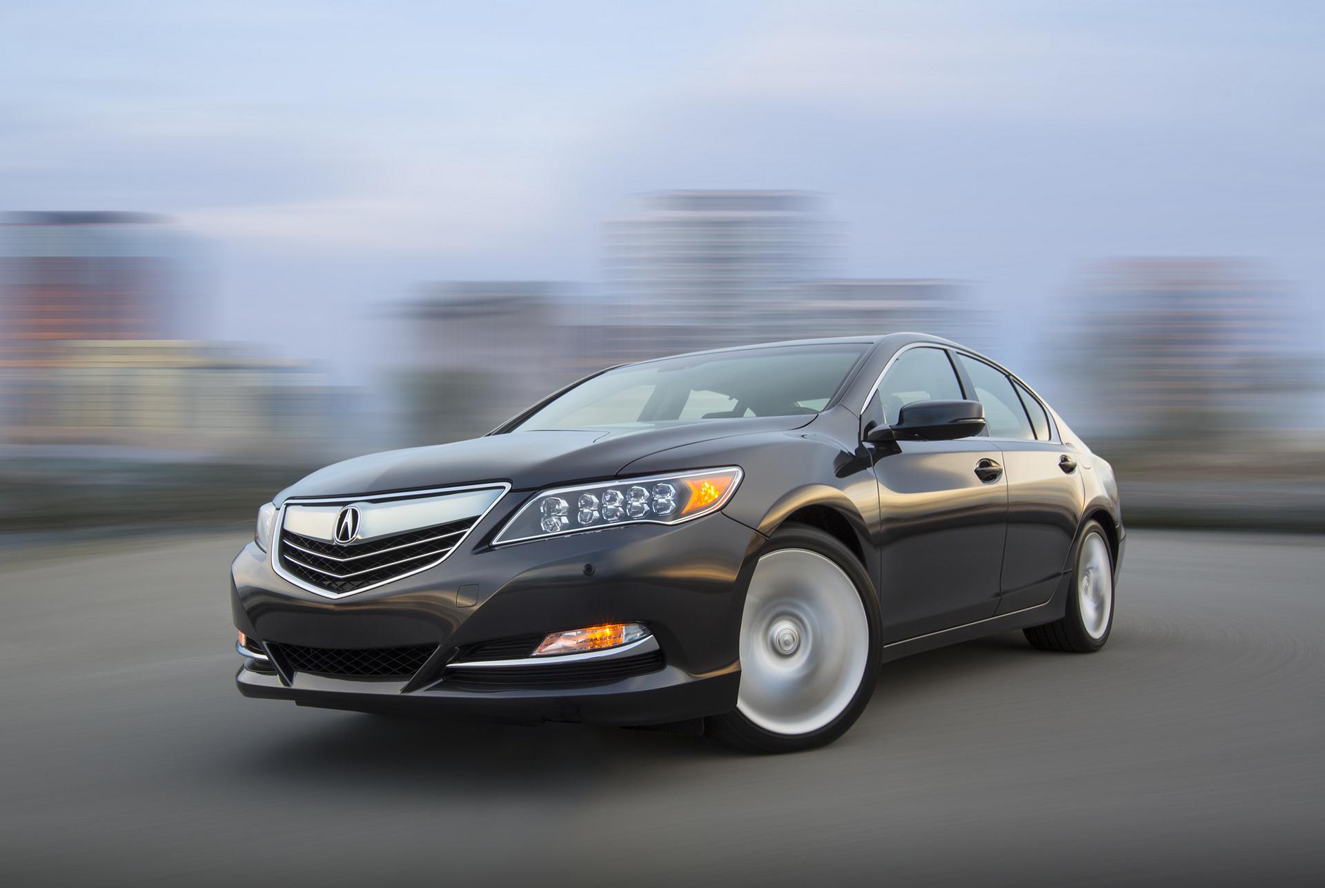 2017 Acura RLX © Honda Motor Co., Ltd.