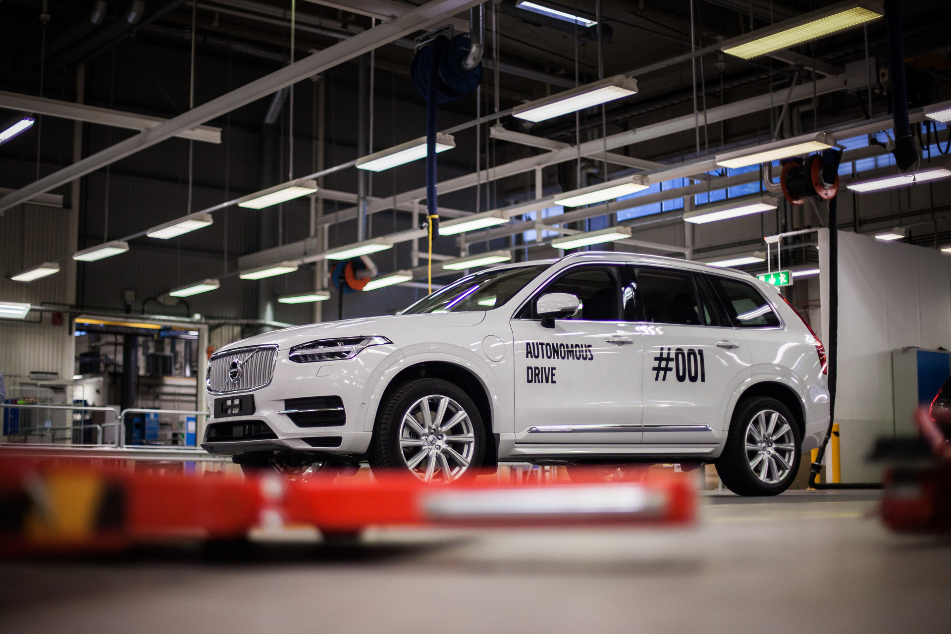 The very first autonomous XC90 that will be used in the Drive Me project in Gothenburg © Zhejiang Geely Holding Group Co., Ltd