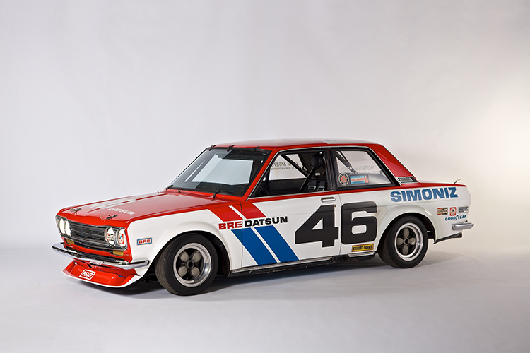 1971 Datsun 510 BRE #46 © Nissan Motor Co., Ltd.