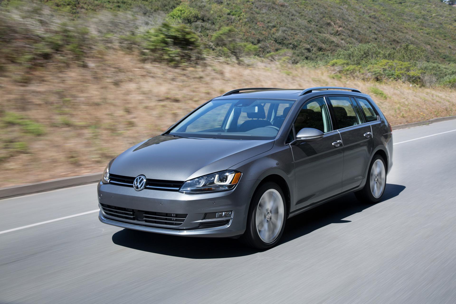 2016 Volkswagen Golf SportWagen © Volkswagen AG