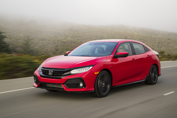 2017 Honda Civic Hatchback © Hon2017 Honda Civic Hatchback © Honda Motor Co., Ltd.da Motor Co., Ltd.